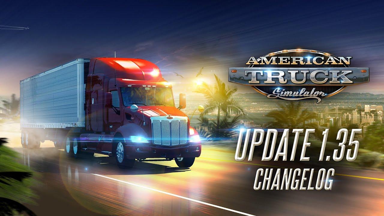 American Truck Simulator Update 1.35 released
