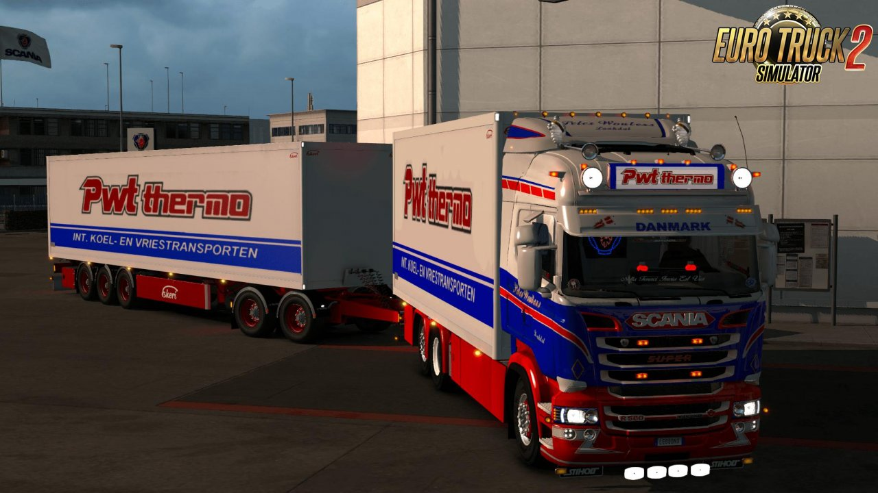 Scania PWT Thermo 4 & 6 Series Skin Pack v1.0