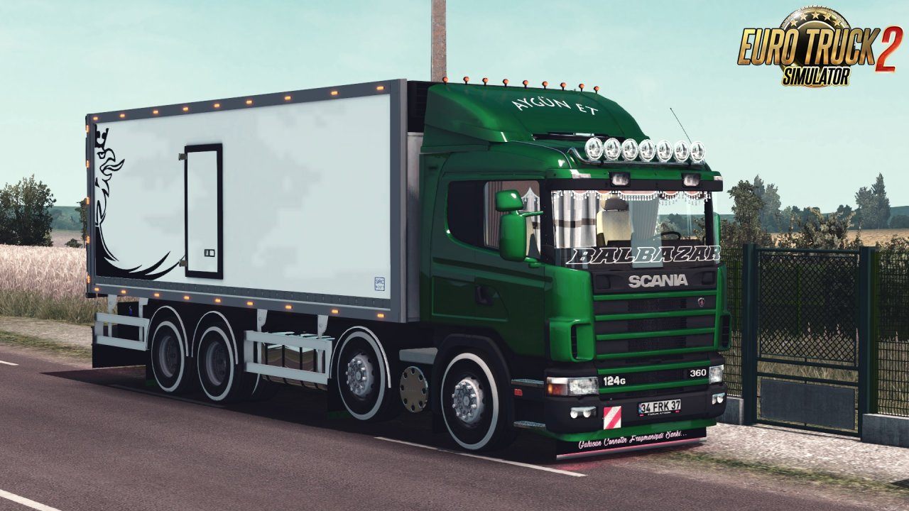 Mod Scania 124G Thermo (1.35.x)