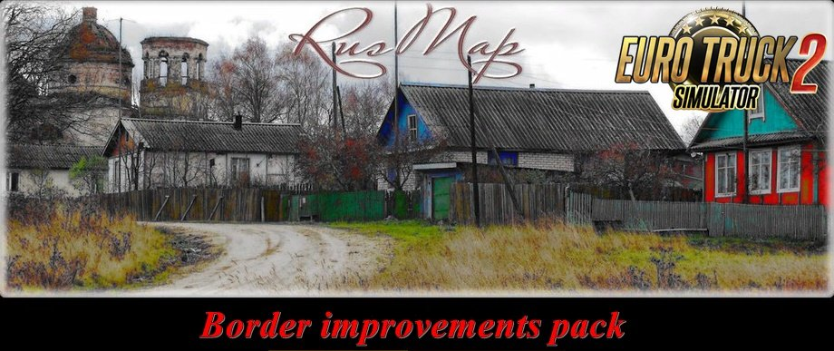 Border Improvements pack for RusMap 1.9.0