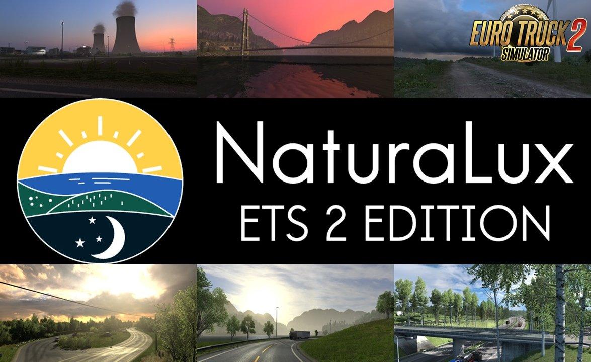 NaturaLux Graphics Mod v1.0 (1.38.x) for ETS2