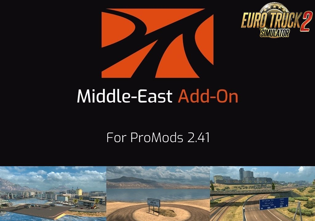 ProMods Middle-East Add-On [1.35.x]