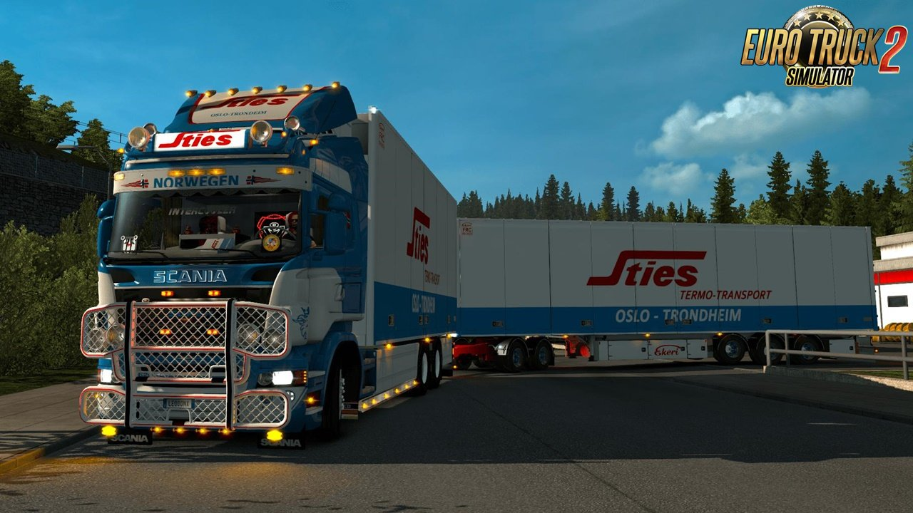Scania Sties Ekeri tandem combo for Ets2