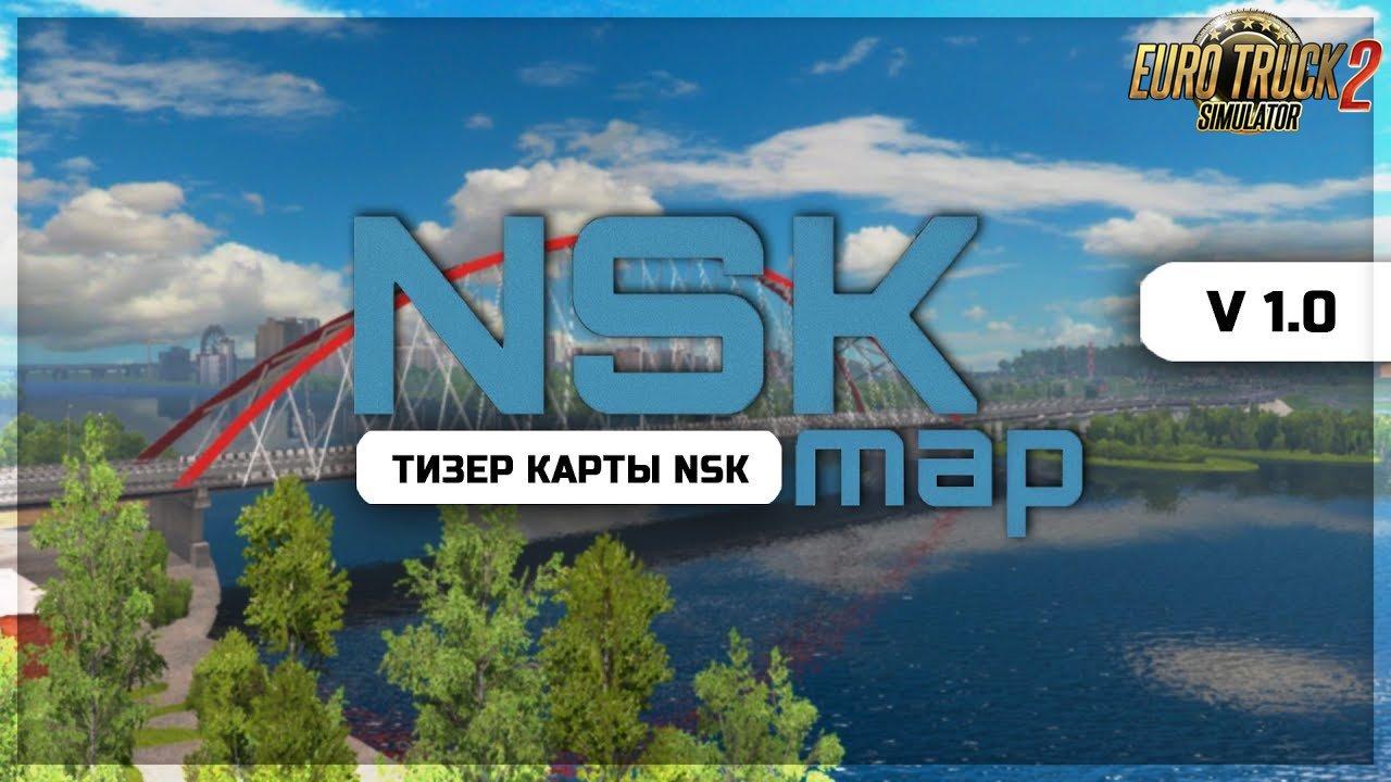 NSK MAP (Novosibirsk Region) v1.0 (1.34.x) for ETS2