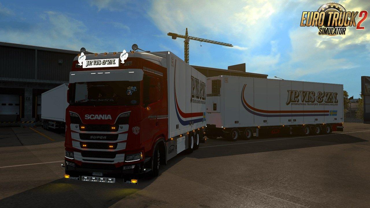 Scania S JP Vis & Zn Tandem skin