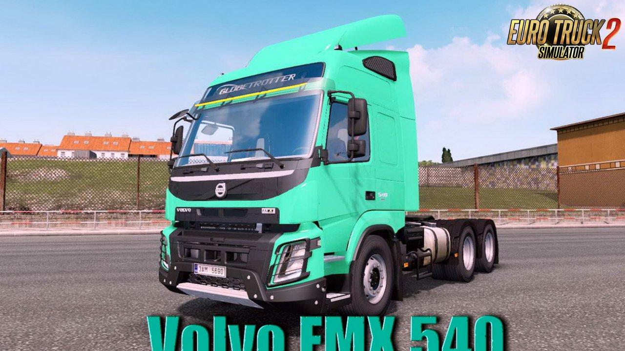 Volvo FMX 540 + Interior v1.0 Edit by galimim (1.35.x)