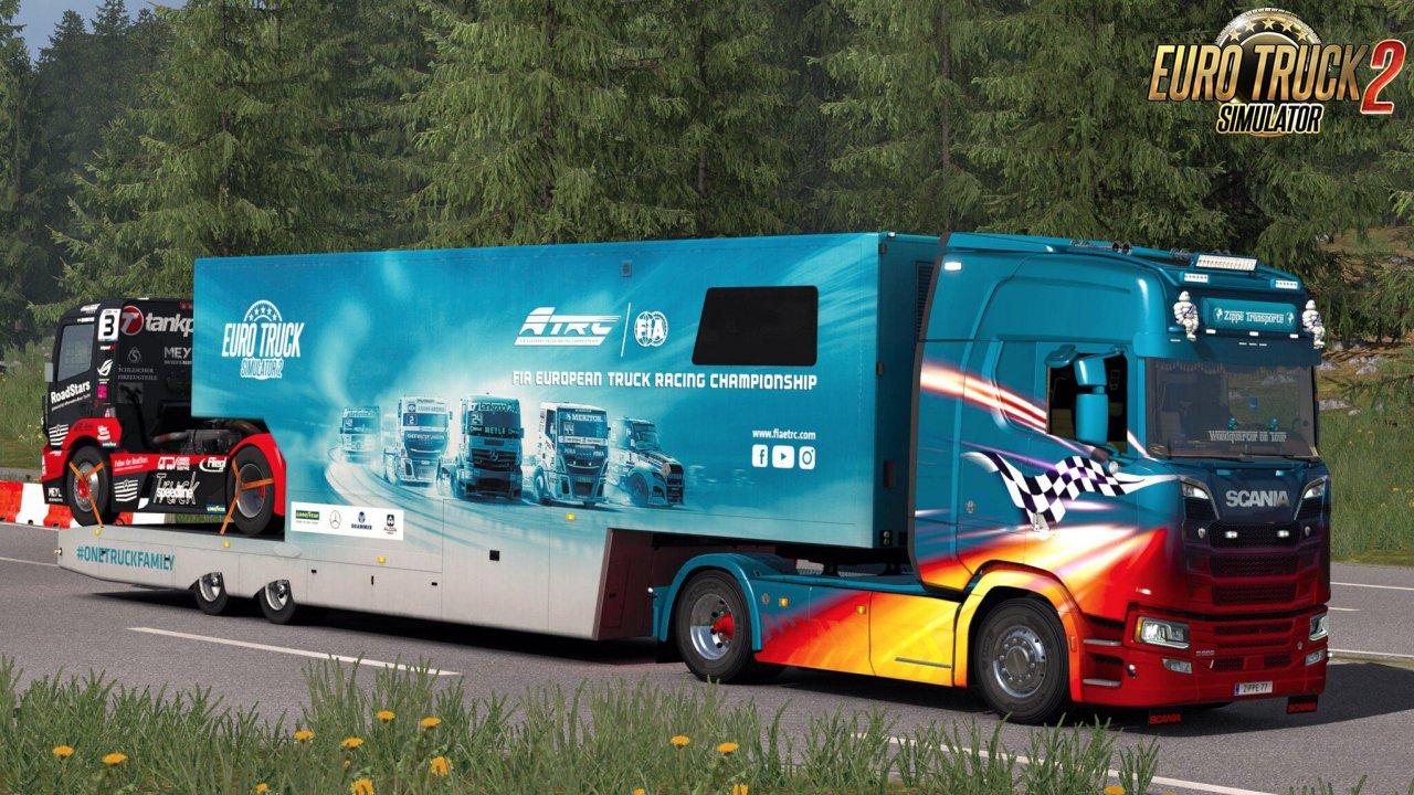 Deep Sound v1.1 (for all SCS trucks) in Ets2