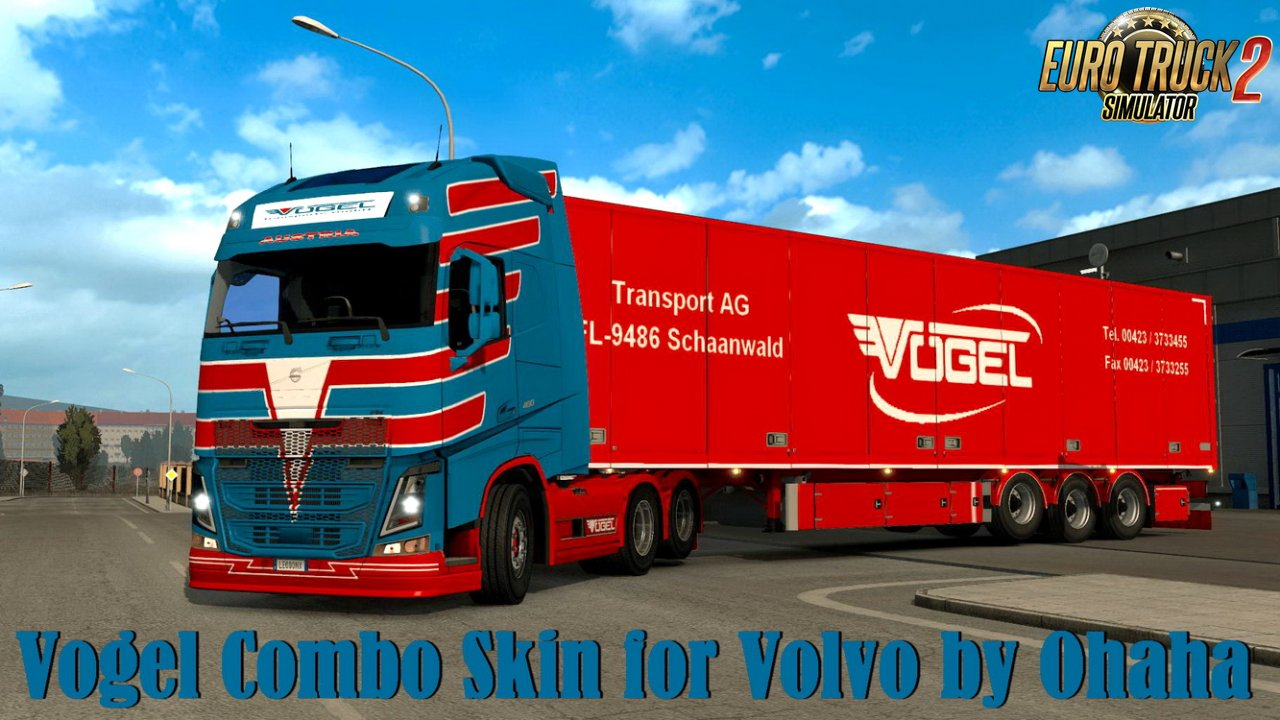 Vogel Combo Skin for Volvo by Ohaha v1.0 (1.35.x)