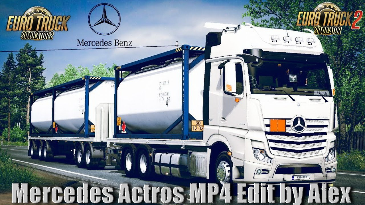 Mercedes Actros MP4 v1.5 edit by Alex [1.35/1.36]