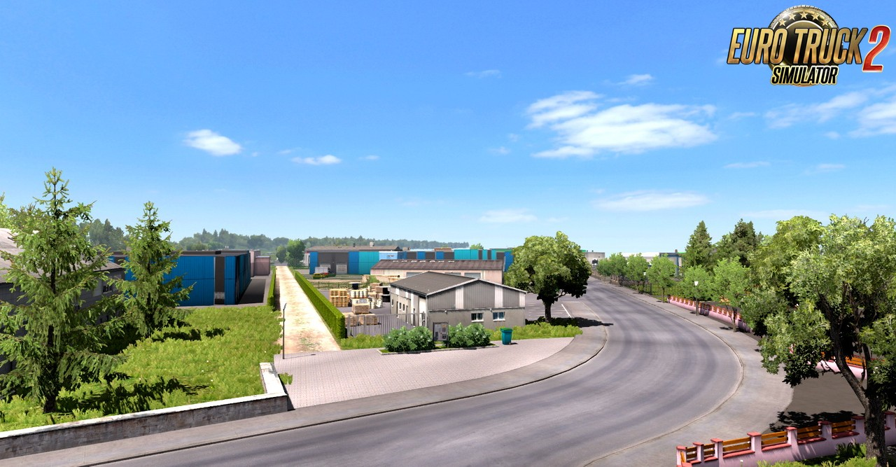FSG Map Real Scale 1:1 v1.0.1 (1.35.x) for ETS2