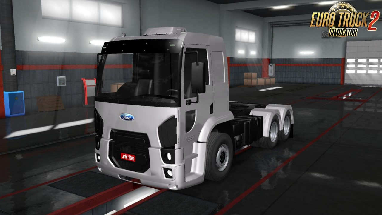 Ford Cargo 1932 + Interior for Ets2