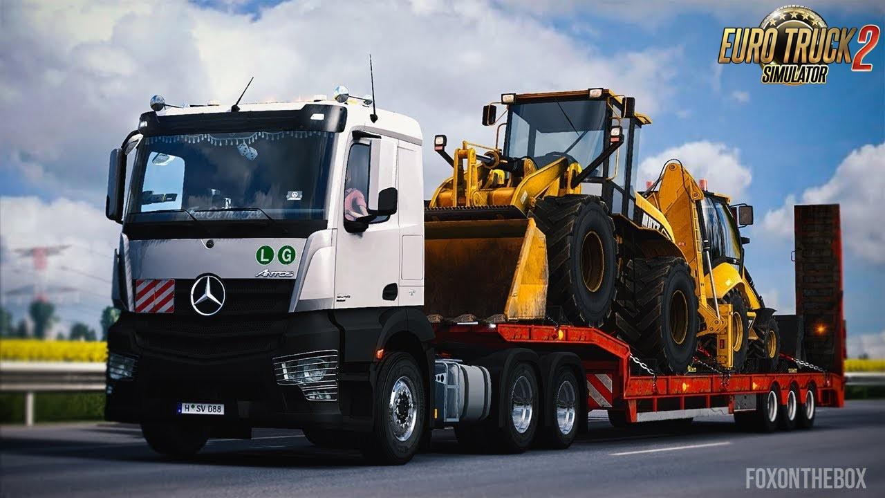 Mercedes-Benz Antos 2012 by D3S Design - Euro Truck 2