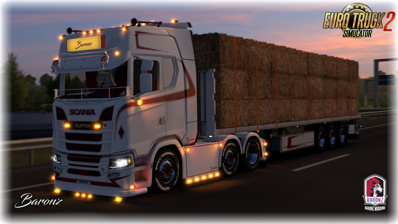 Baronz SkinPack #24 v1.0 (1.35.x) for ETS2