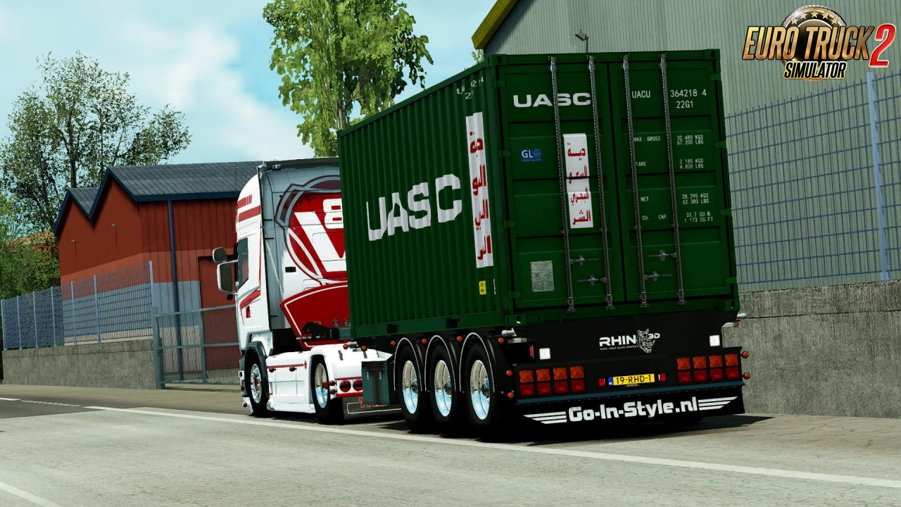 Container Trailer v1.2 by Rhino3D (1.35.x)