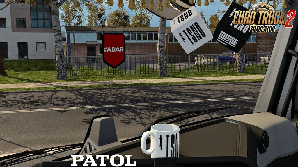 ADAR and TSNO cabin accessories for Ets2