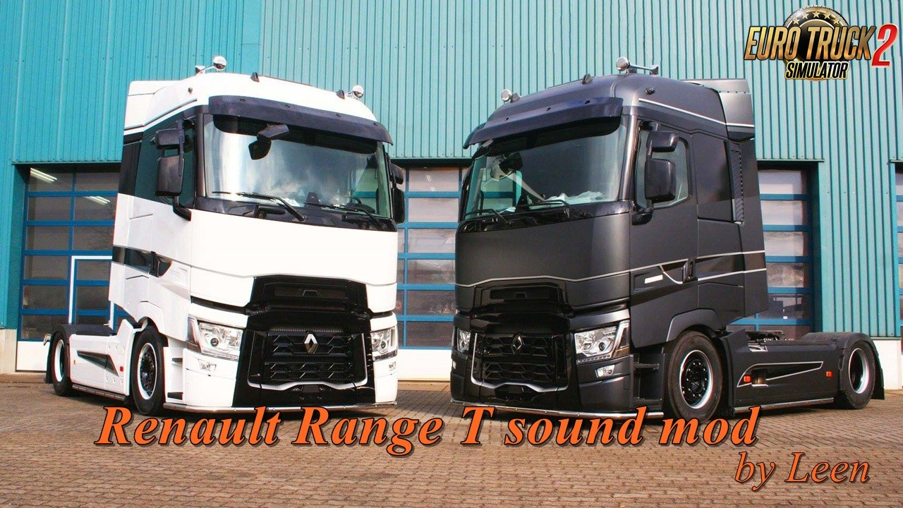 Renault Range T sound mod by Leen