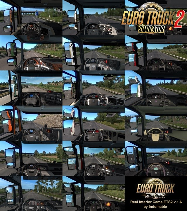 Real interior cams for all trucks v1.6