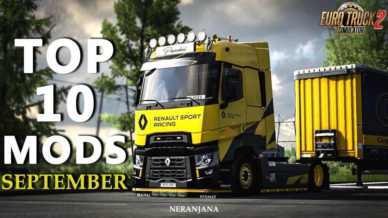 TOP 10 ETS2 Mods for September - Euro Truck Simulator 2