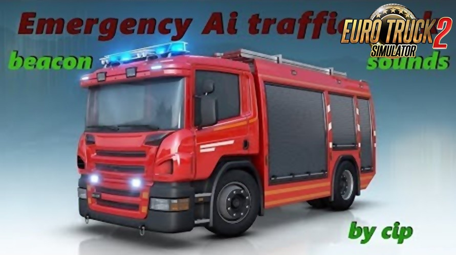 Real Emergency Traffic pack v1.0 by Cipinho (1.36.x)