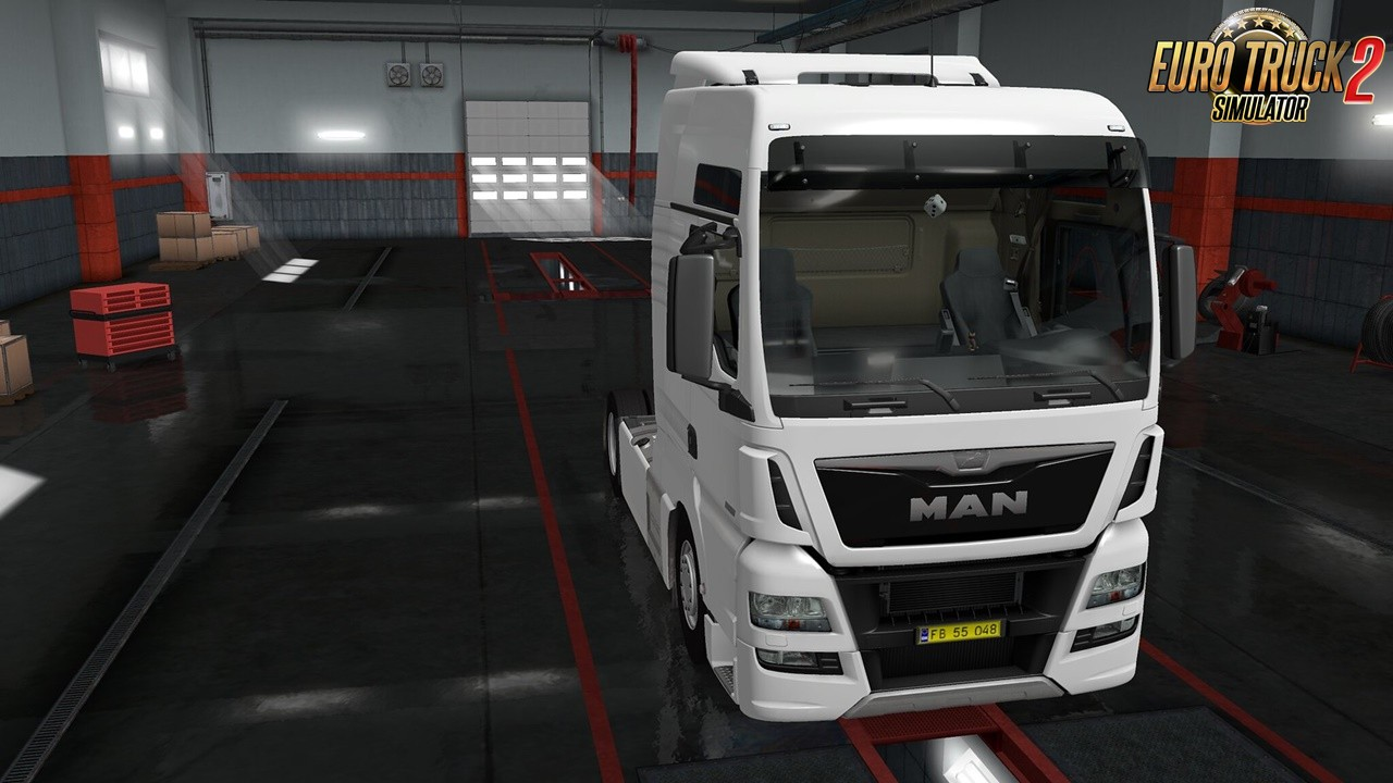 Exterior view reworked for MAN TGX euro 6 v1.0 [1.35.x]