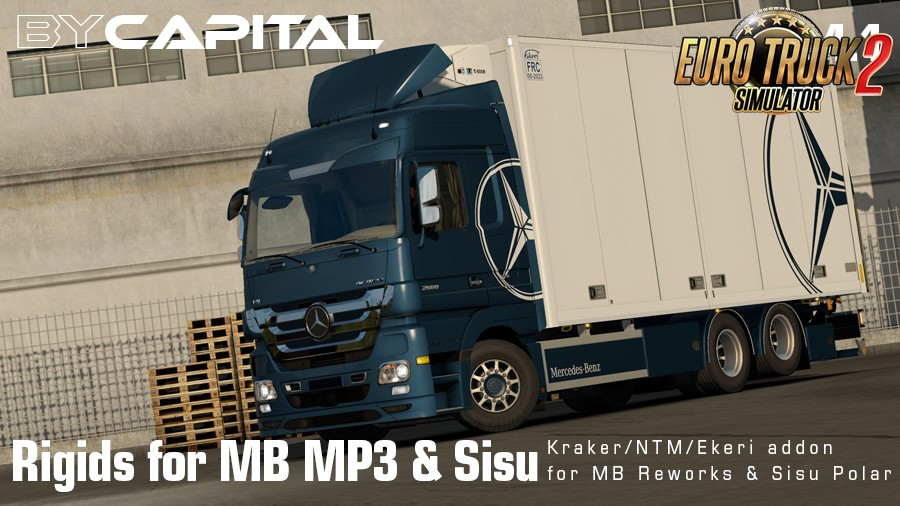 Rigid chassis for MB MP3 & Sisu Polar Mk1 v4.1 By Capital [1.35.x]