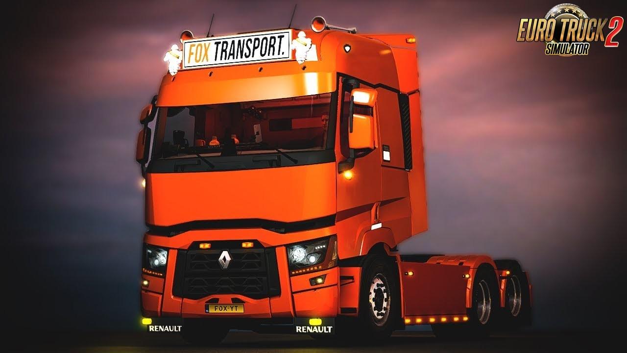 Renault T Light Improvements v1.4 - Euro Truck Simulator 2