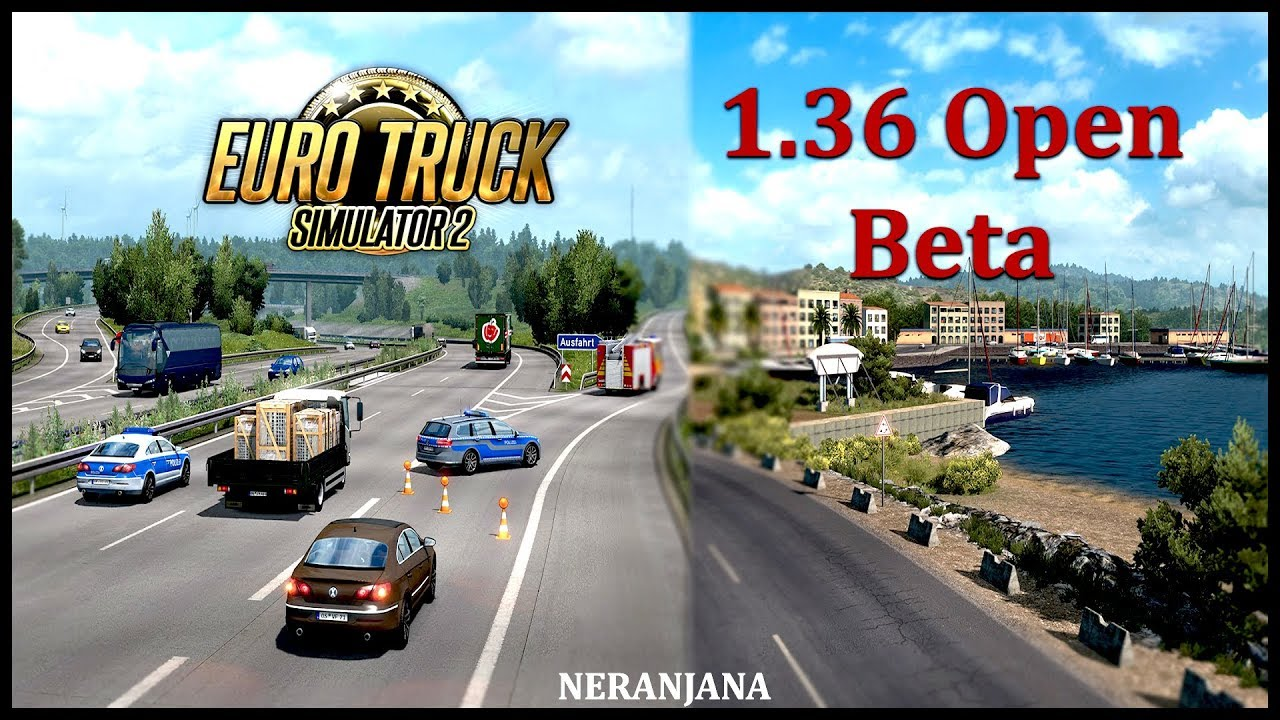 ETS2 1.36 Open Beta - Euro Truck Simulator 2