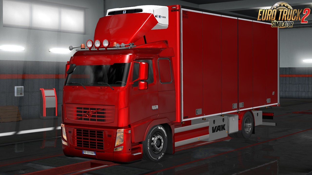 Rigid chassis pack for all SCS trucks v3.0 in Ets2