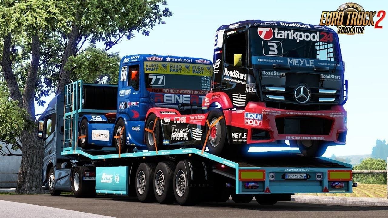 Racer Trucks Transporter Ownable for Ets2