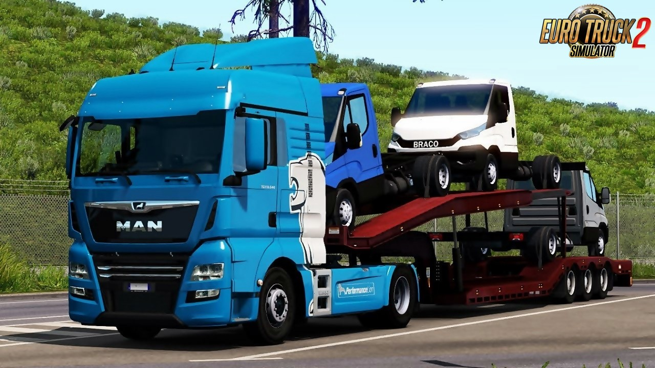 Ownable Car Transporter for Ets2