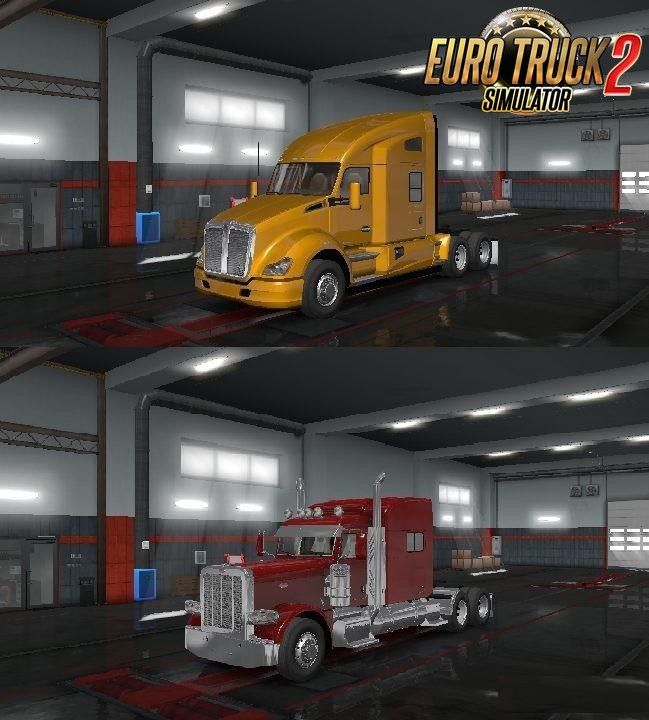 ATS Truck Pack for Ets2 [1.35.x+]