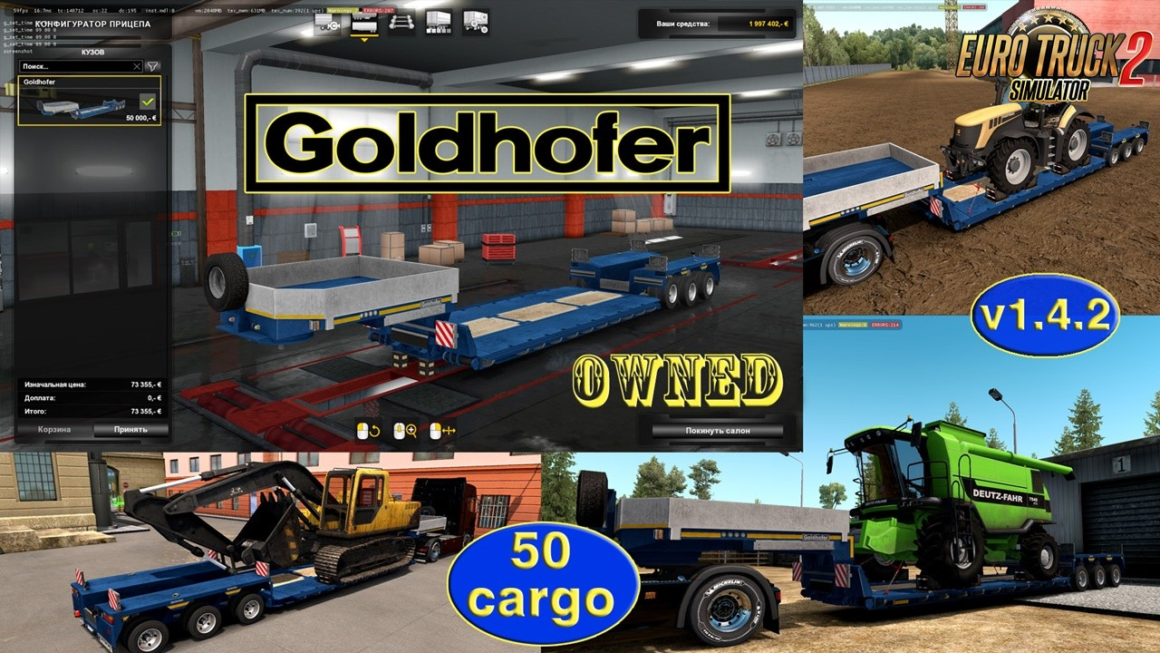 Ownable trailer Goldhofer v1.4.2 by Jazzycat
